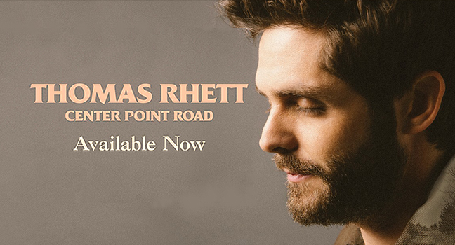 Νέο Album | Thomas Rhett – Center Point Road
