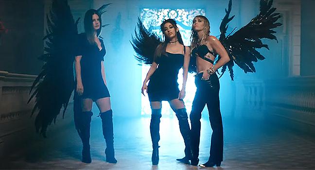Νέα Συνεργασία & Music Video | Ariana Grande, Miley Cyrus, Lana Del Rey – Don't Call Me Angel (Charlie's Angels)