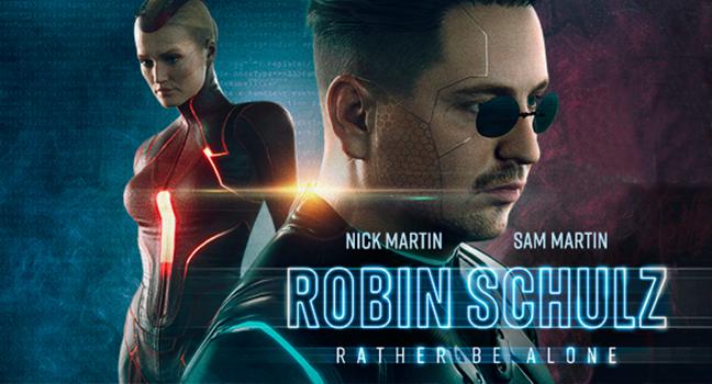 Νέα Συνεργασία | Robin Schulz & Nick Martin & Sam Martin – Rather Be Alone