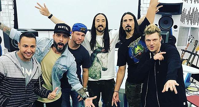 Νέα Συνεργασία | Steve Aoki Feat. Backstreet Boys – Let It Be Me