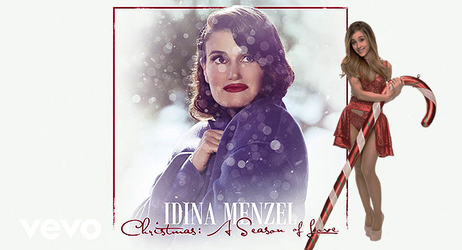 Νέα Συνεργασία | Idina Menzel Feat. Ariana Grande – A Hand For Mrs. Claus