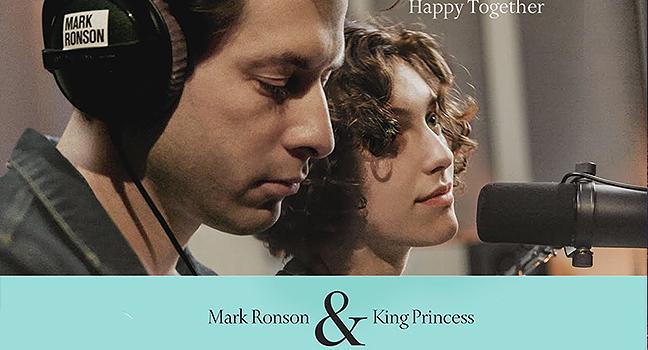 Νέο Cover | Mark Ronson Feat. King Princess – Happy Together