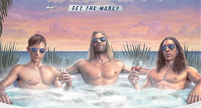 Νέα Συνεργασία | Taylor Hawkins & The Coattail Riders Feat. Chrissie Hynde, Joe Walsh & Duff McKagan – Get The Money