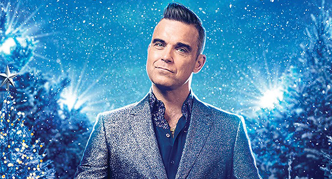 "News   O Robbie Williams και το ""The Christmas Present"" στην κορυφή των charts   SounDarts"