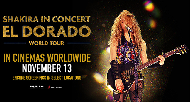 "News | Το νέο Teaser της ταινίας ""Shakira In Concert: El Dorado World Tour"" είναι εδώ!"