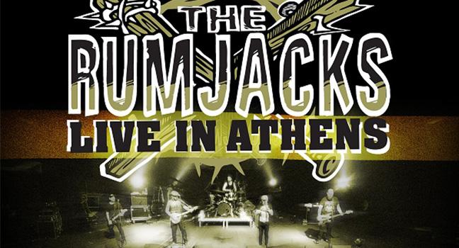 Νέο Album | The Rumjacks – Live In Athens