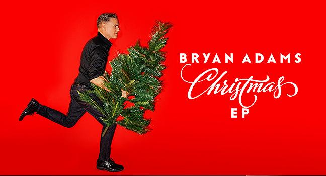Νέο E.P. | Bryan Adams – Christmas EP