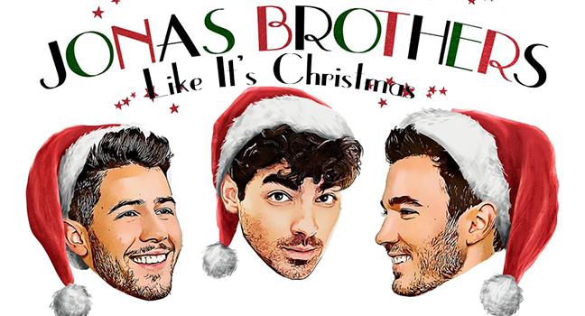Νέο Τραγούδι | Jonas Brothers – Like It's Christmas