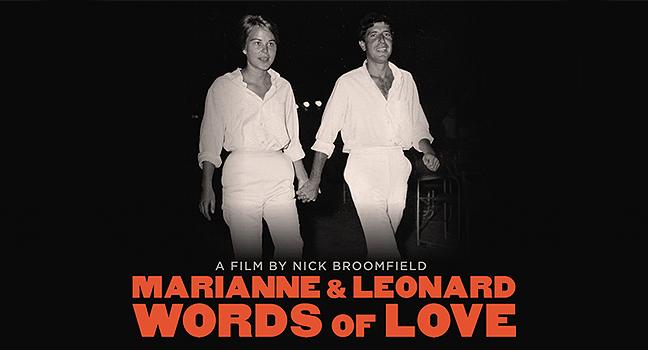 "News | Η ταινία του Leonard Cohen: ""Marianne & Leonard Words Of Love"""
