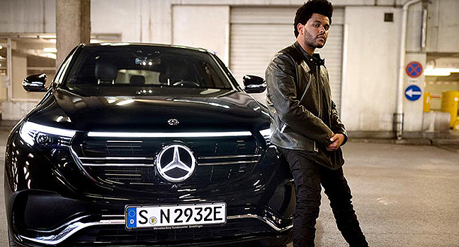 "News | Ο The Weeknd πρωταγωνιστεί στη νέα καμπάνια της Mercedes Benz, όπου ακούγεται το ""Blinding Lights"""