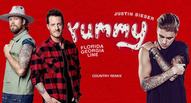 Νέο Remix   Justin Bieber & Florida Georgia Line – Yummy (Country Remix)