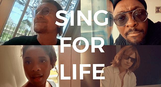 Νέα Συνεργασία & Music Video | Bono, Will.i.am, Jennifer Hudson & Yoshiki – Sing For Life