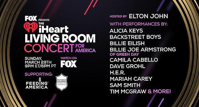 "News | To ""Living-Room Concert"" του Elton John με τη συμμετοχή πολλών μεγάλων Stars"