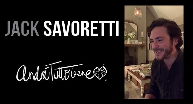 Νέο Τραγούδι & Music Video   Jack Savoretti – Andrà Tutto Bene