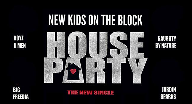 Νέα Συνεργασία & Music Video   New Kids On The Block Feat. Jordin Sparks, Naughty By Nature, Big Freedia & Boyz ΙΙ Men – House Party