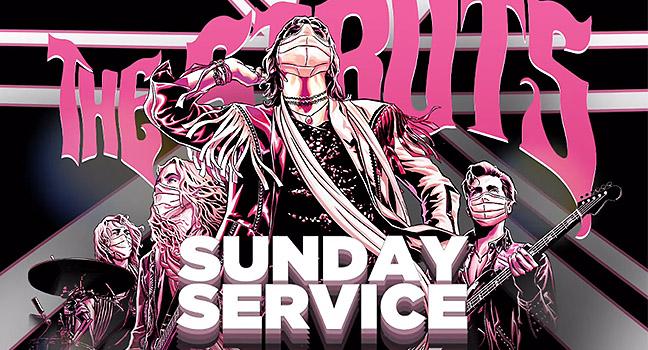 "News | Οι The Struts παρουσιάζουν τη νέα διαδικτυακή τους σειρά ""Sunday Service"""