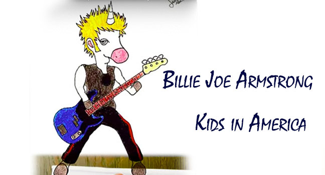 Νέο Cover | Billie Joe Armstrong – Kids In America