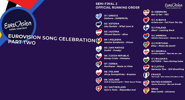 "News | Δείτε τo δεύτερο μέρος του ""Eurovision Song Celebration"" 2020"