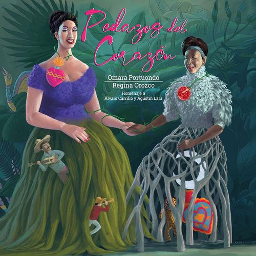 2019 – Pedazos del Corazon  (Homenaje a Álvaro Carrillo y Agustín Lara) (with Regina Orozco)