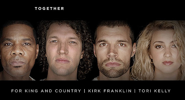 Νέο Music Video | For KING & COUNTRY, Tori Kelly & Kirk Franklin – Together