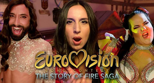 "Νέο Music Video | Cast Of ""Eurovision Song Contest: The Story Of Fire Saga"" & Eurovision Stars – Song-A-Long"