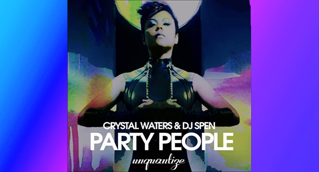Νέα Συνεργασία   Crystal Waters & DJ Spen - Party People