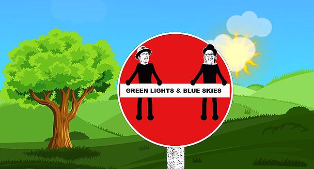 Νέα Συνεργασία | Gregory Page Feat. Jason Mraz – Green Lights & Blue Skies