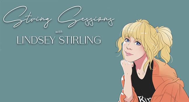 "News | H Lindsey Stirling παρουσιάζει τη νέα διαδικτυακή της σειρά ""String Sessions"""