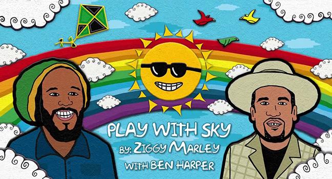 Νέα Συνεργασία   Ziggy Marley Feat. Ben Harper – Play With Sky