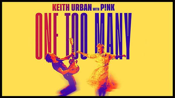Νέα Συνεργασία | Keith Urban & P!nk – One Too Many